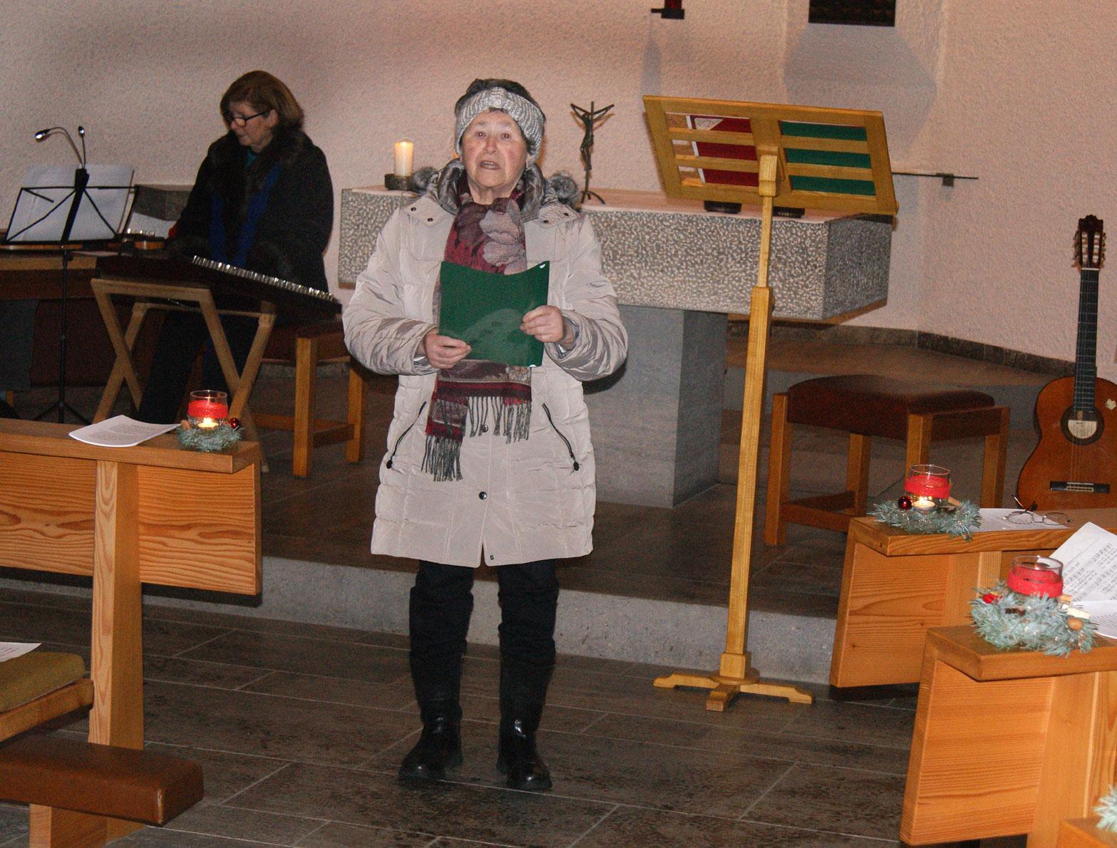 Frau Schön aus Stauf hat uns mit einer wundervollen Geschichte erfreut