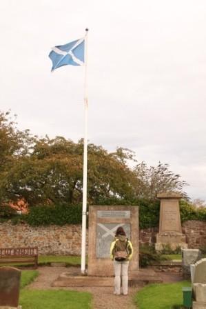 Ursprung der Schottischen Flagge