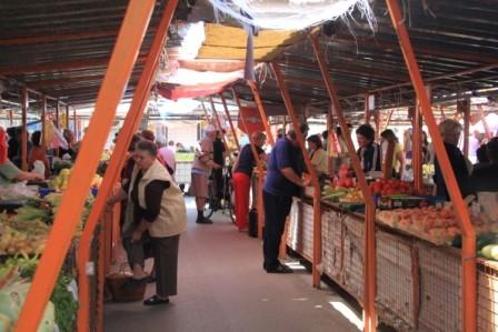Markt in Sremska Mitrovica