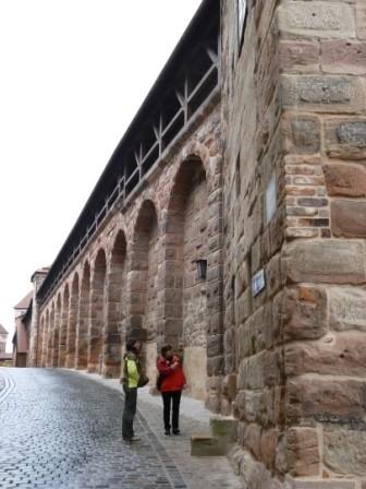 Stadtmauer von Nürnberg