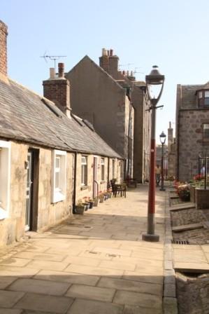 Alte Fischerquartiere in Aberdeen