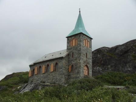 Kirche von Grensle Jakobselv
