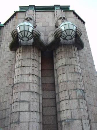 Art Deco Bahnhof