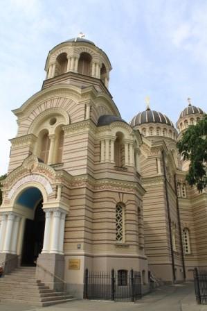 Orthodoxe Kathedrale, Riga