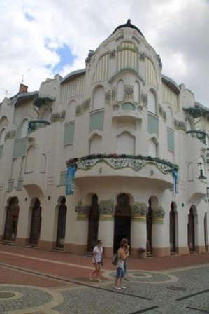 Art Deco in Szeged