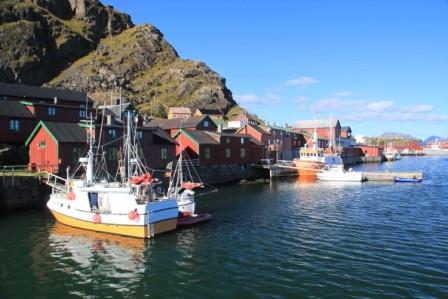 Hafen von Stamsund