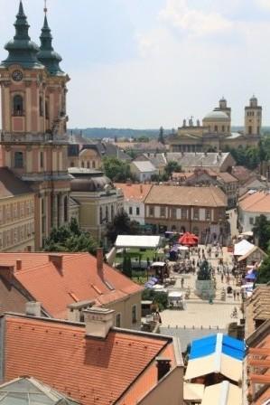 Eger Innenstadt