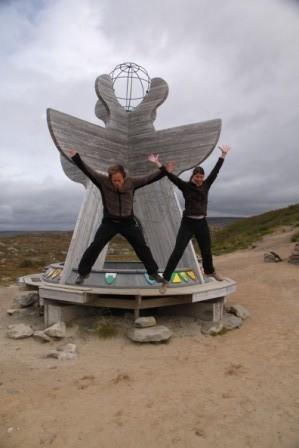 Der Sprung nach Süden - über den Polarkreis