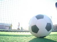 日産スタジアムでサッカー