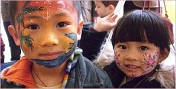 Klassisches Kinderschminken