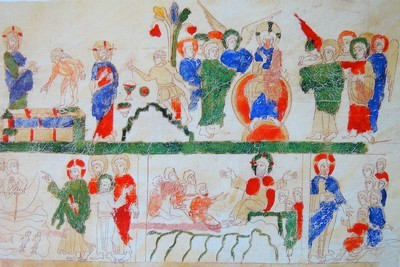 La bible de Ripoll (Catalogne) du 11ème siècle