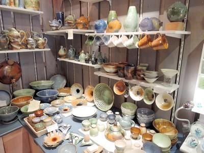 Leur production exposée au magasin à la Cité de Carcassonne
