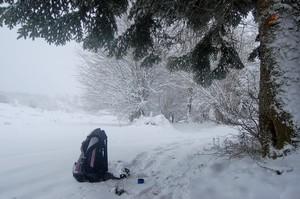 l'hiver au plateau de Sault