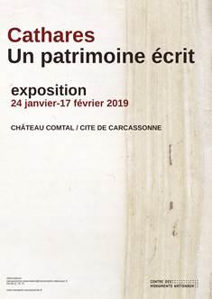 Affiche pour l'exposition au château comtal à Carcassonne