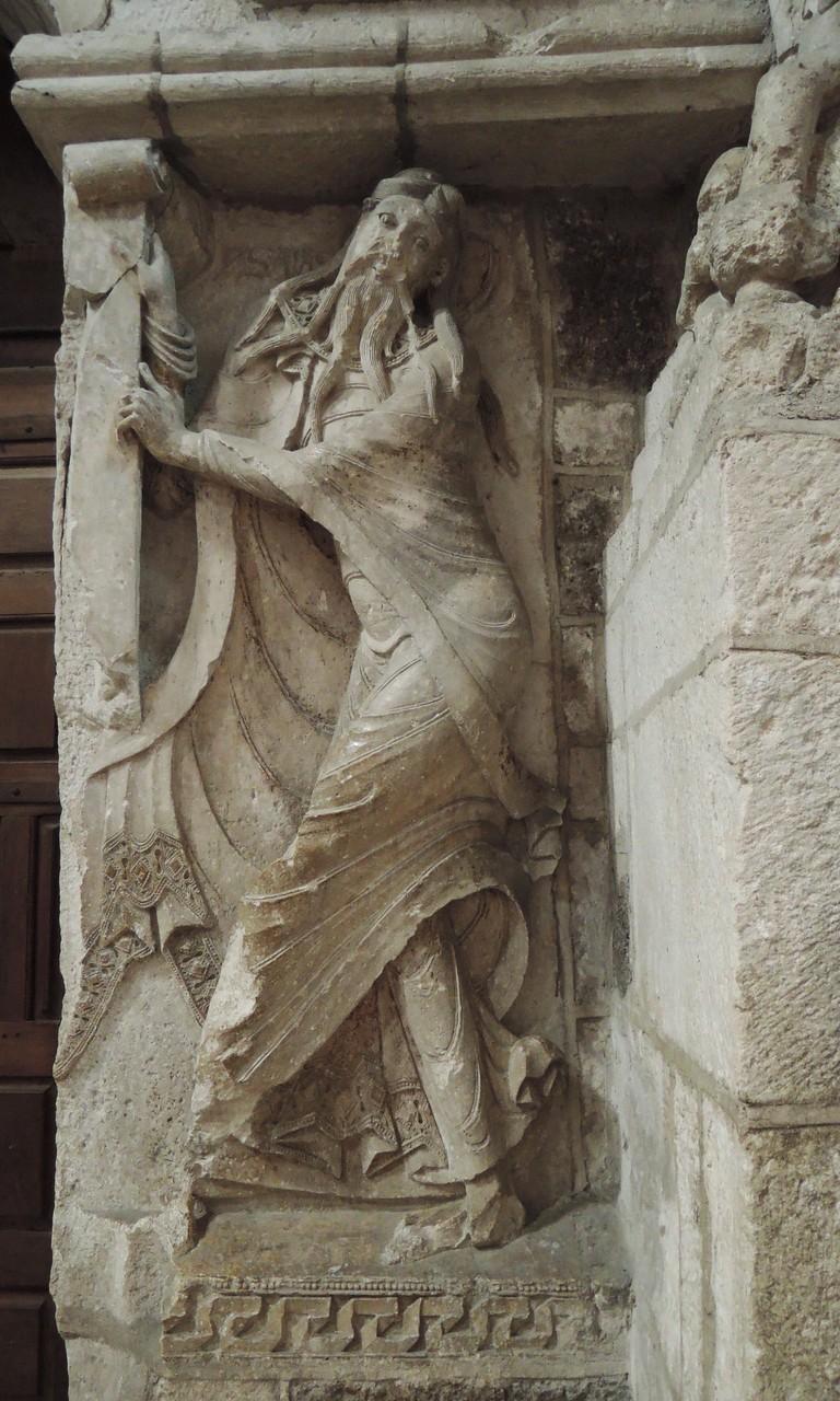 abbaye Sainte-Marie de Souillac, prophète Jérémie, un chef-d'oeuvre, influence de Moissac