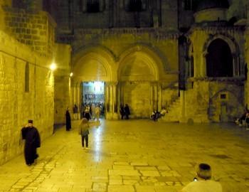 Saint Sépulchre à Jérusalem