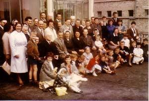 Eglise Dunkerque 1962 - Après un culte