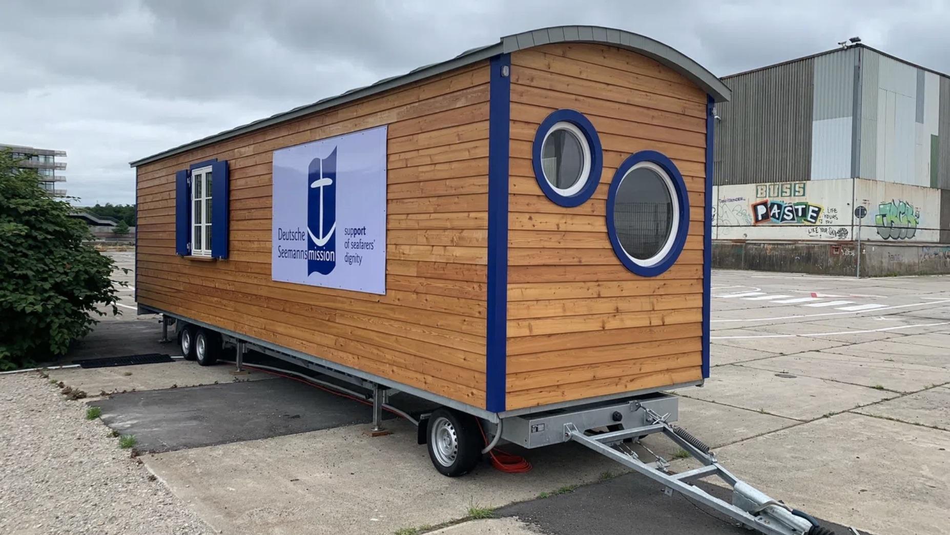 """Seafarers' Lounge der Seemannsmission am Baakenhöft"
