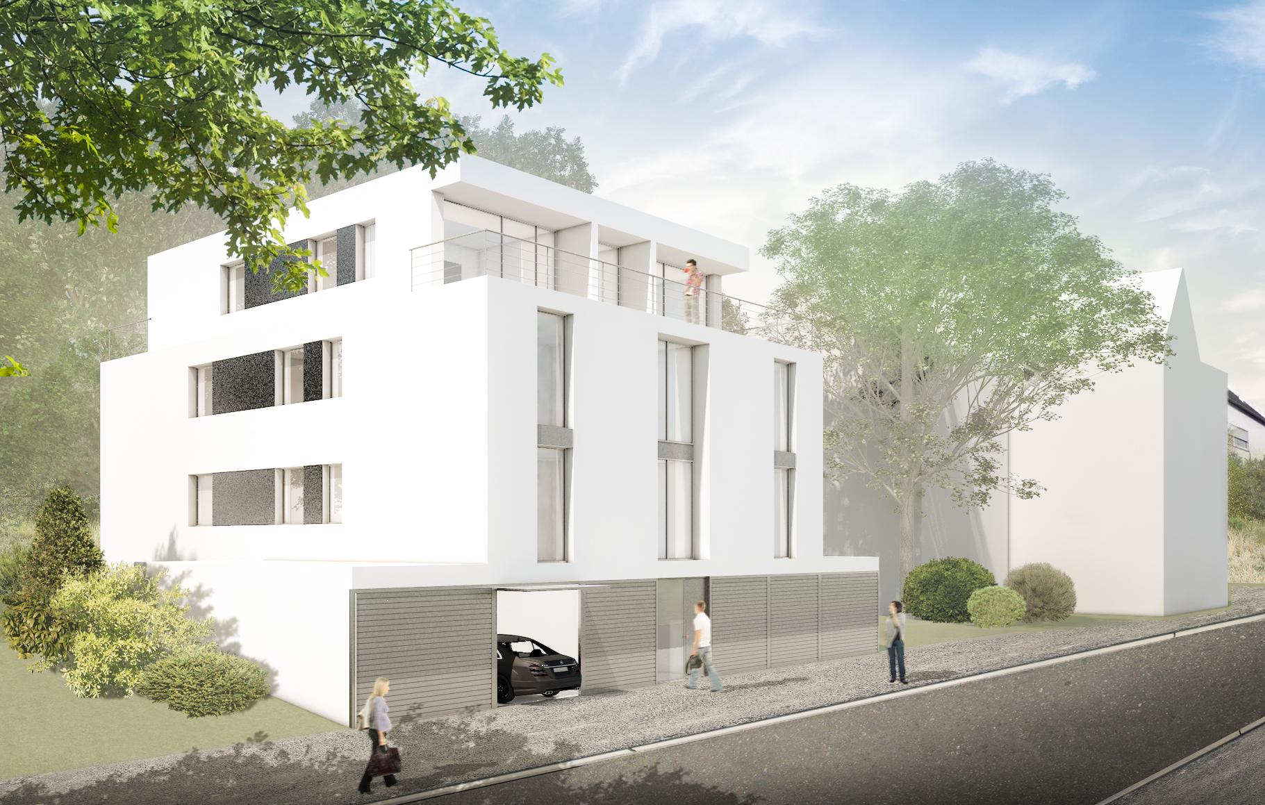 Mehrfamilienhaus, Dortmund - Rendering Solutions