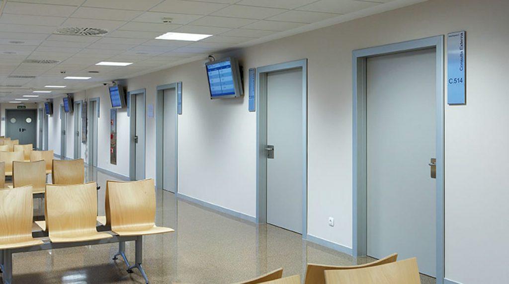 Mamparas sanitarias para clinicas y hospitales