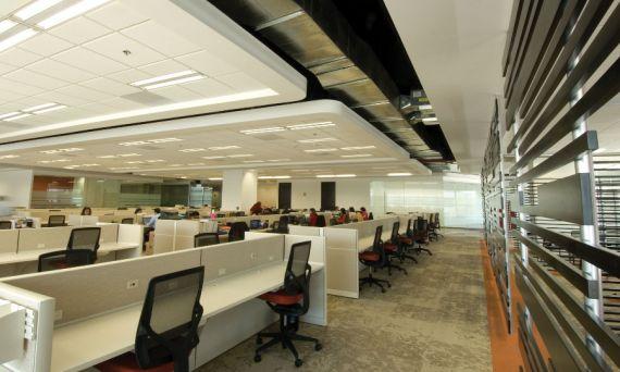 Mamparas sanitarias para oficinas corporativas