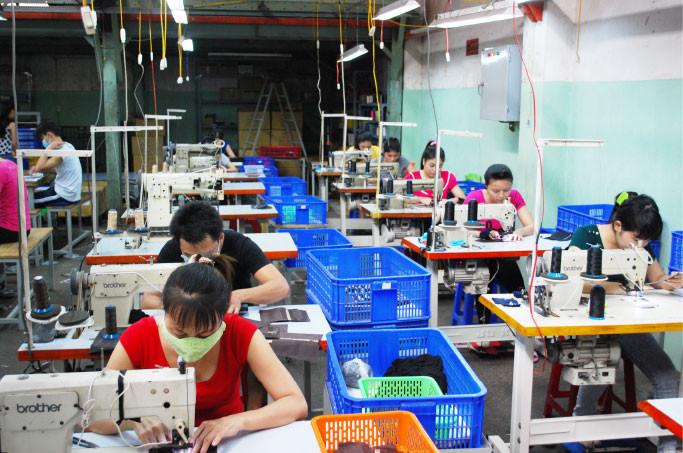 縫製用ミシンは全て日本製です