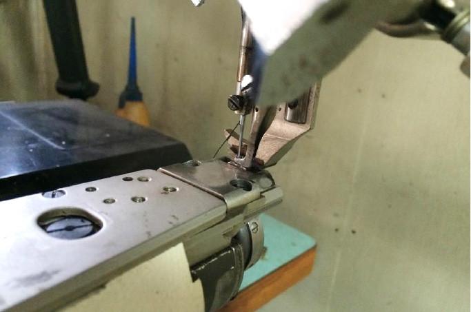 サイフ製造の機械整備へのこだわり