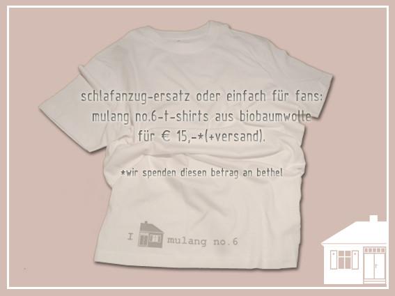 mulang no.6-t-shirt