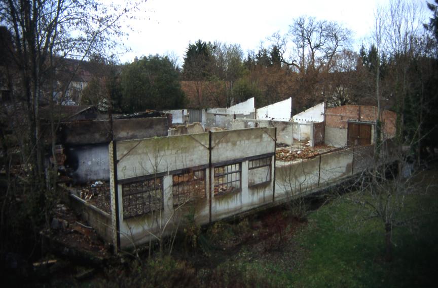 L'usine abandonnée