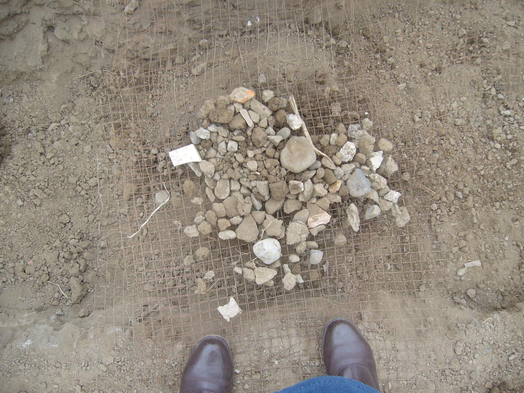 Se retiran las piedras