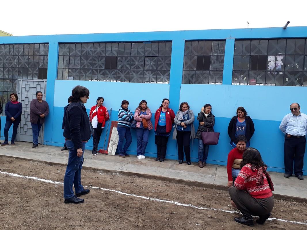 Coordinación general con los profesores de nivel primaria y secundaria.
