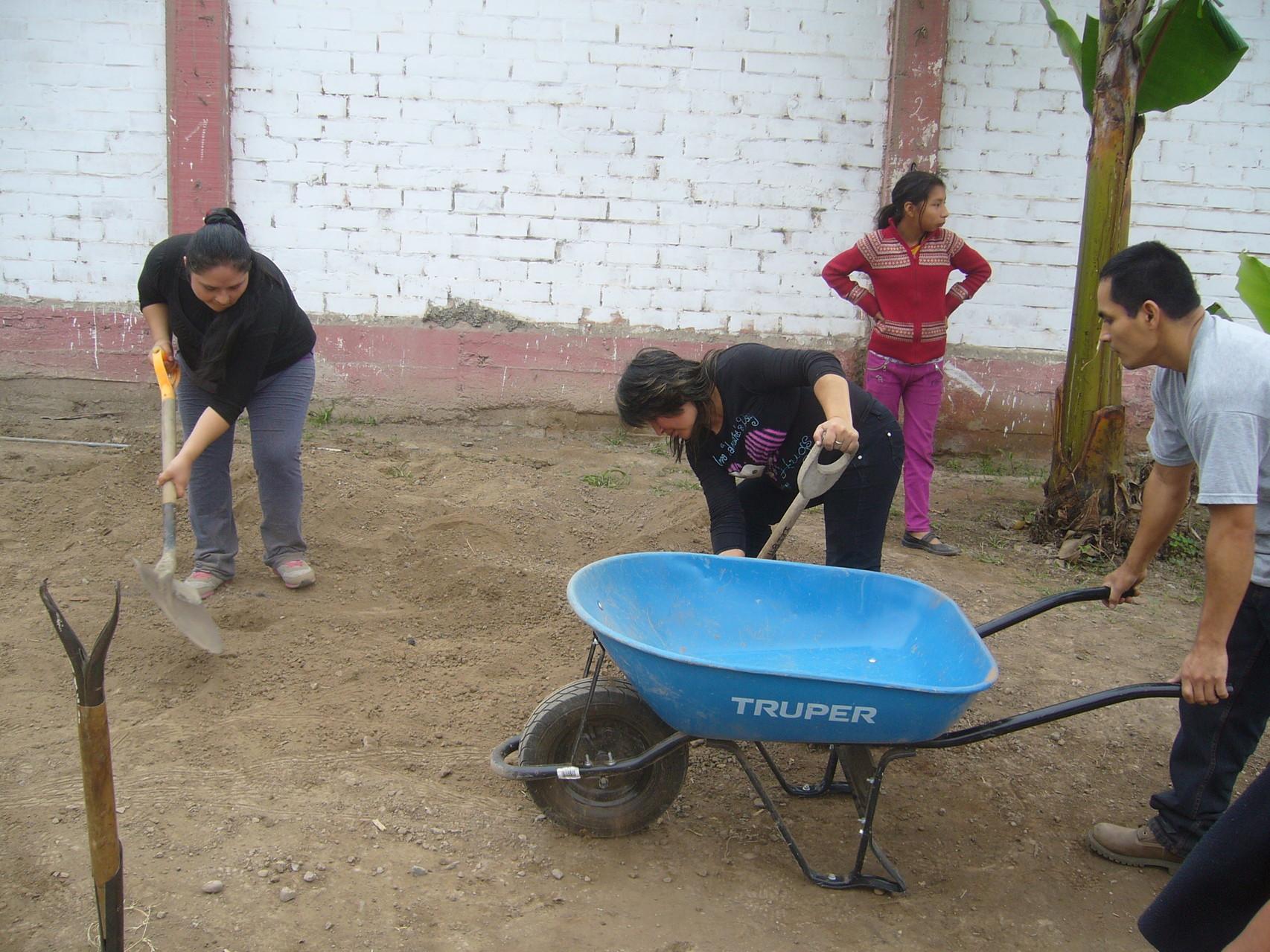 Nivelando el suelo