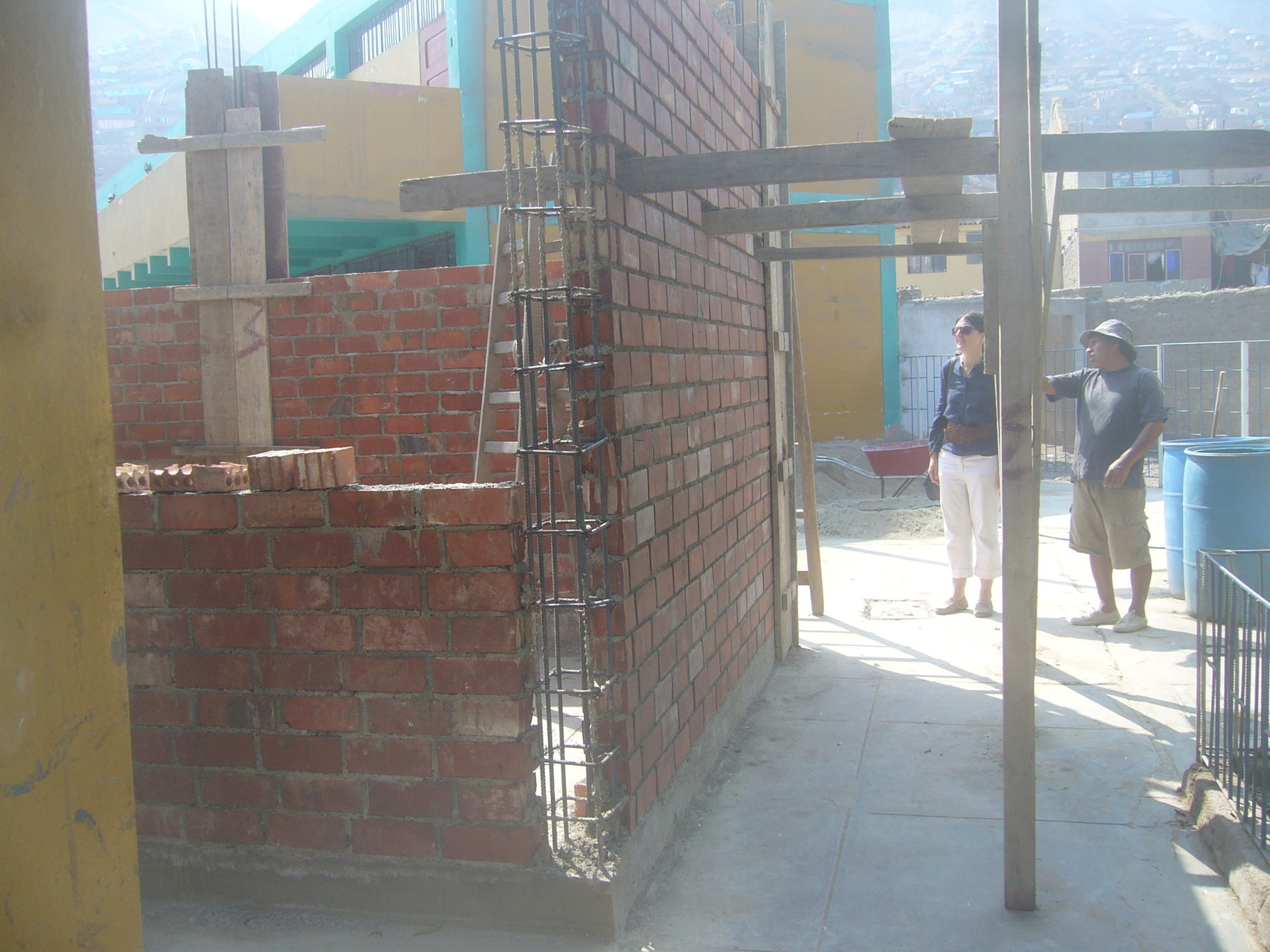 Avances en la construcción