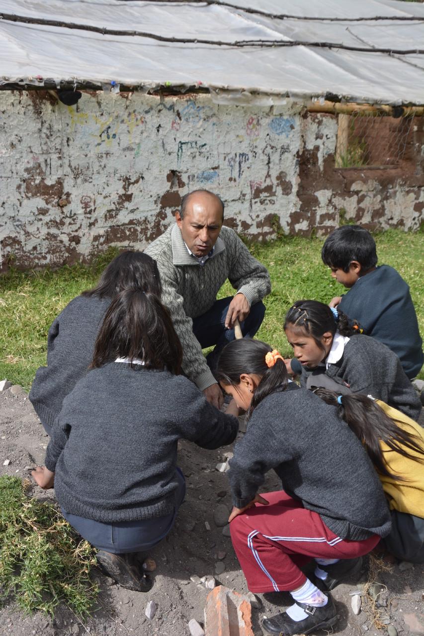 13 Mayo - Prof. Federico Barbachán y sus alumnos