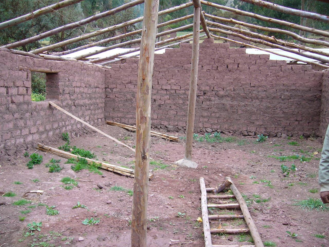 Biohuerto en construcción – Matinga
