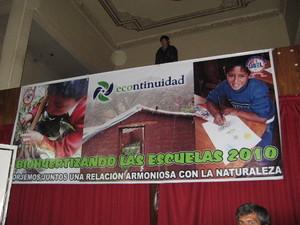 Evento cultural organizado en torno al Biohuerto Educativo (Cusco - Perú)