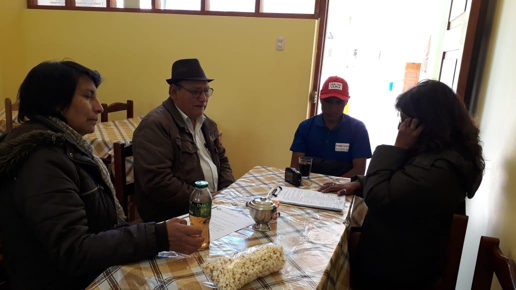 Coordinaciones con la Directora –Primaria y Presidente APAFA- 05 septiembre