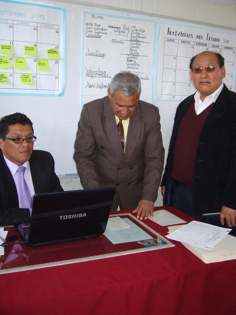 Representantes - UGEL - Cusco