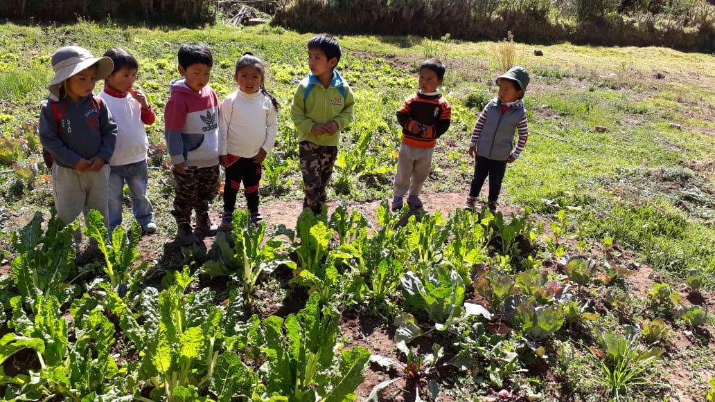 Visitando el Biohuerto abierto – 05 septiembre