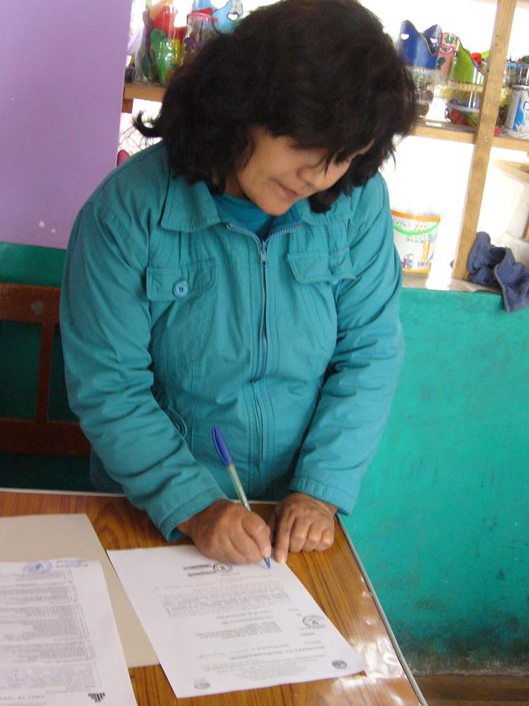 IE. Rayanniyoc - Directora Sra. Luz Creta