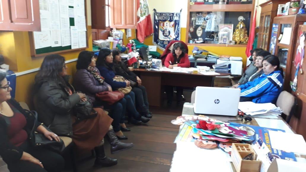 Reunión de coordinación – 05 septiembre