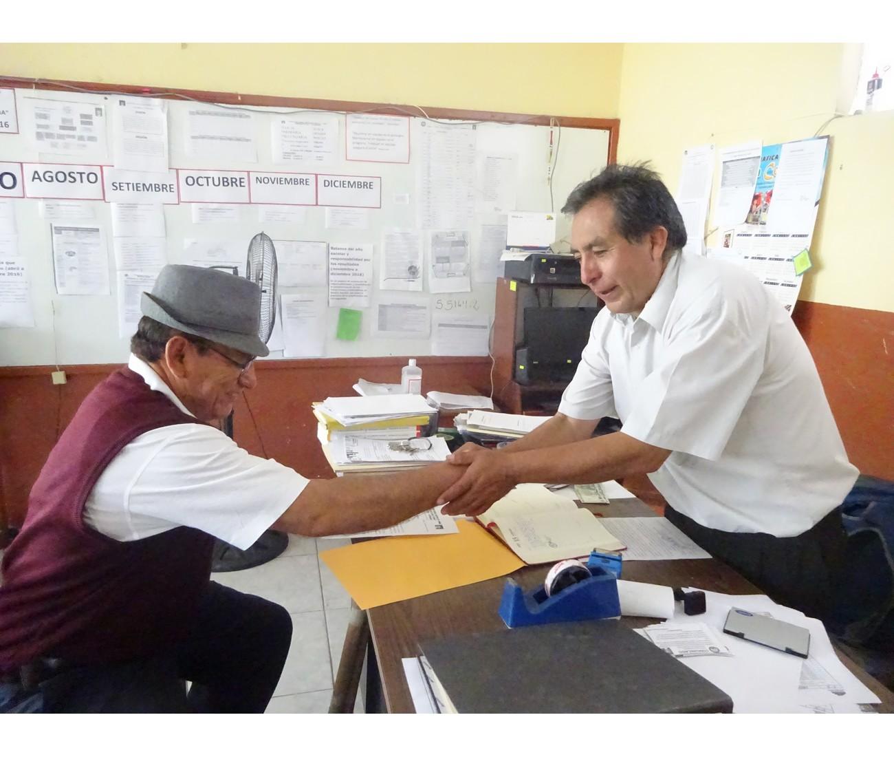 Día 15 abril – Contribuyendo en la instalación del BH Educativo.