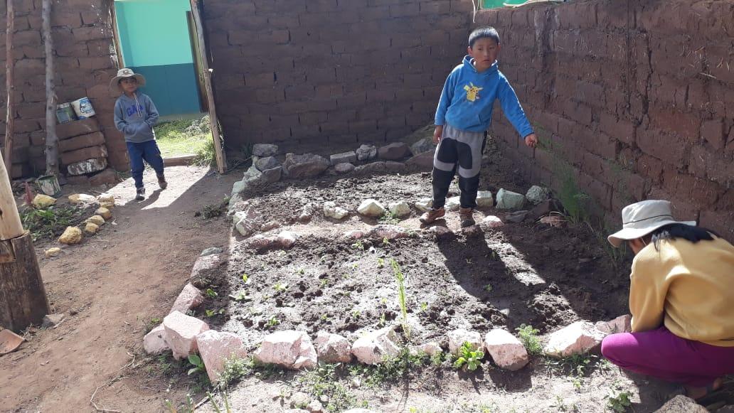 Visita al Biohuerto Educativo - 05 septiembre