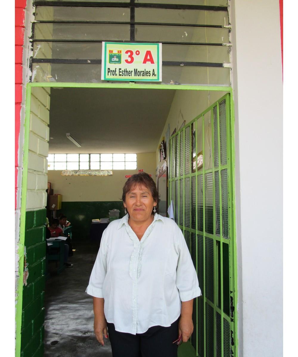 3º A - Prof. Esther Nora Morales Ames