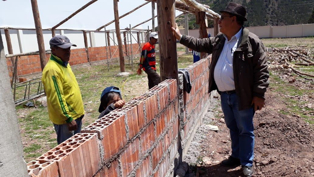 Biohuerto  Educativo avances en la construcción – Secundaria -  05 septiembre