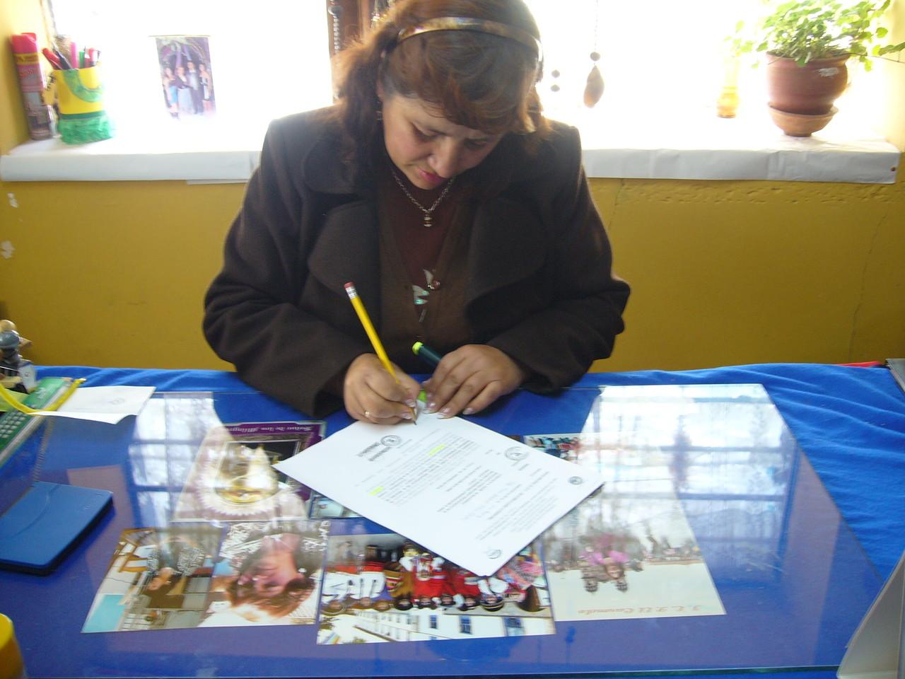 IE. Inca Ripaq - Directora Sra. Soledad Ortiz