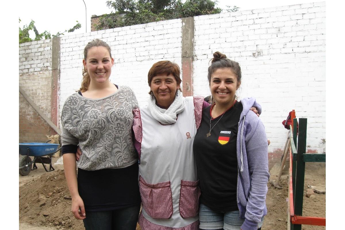 Con la Directora Profesora Inma Rojas Santillán