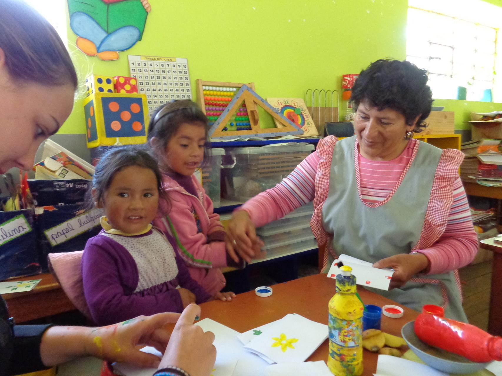 06 Mayo - Elaborando tarjetas- Día de la Madre