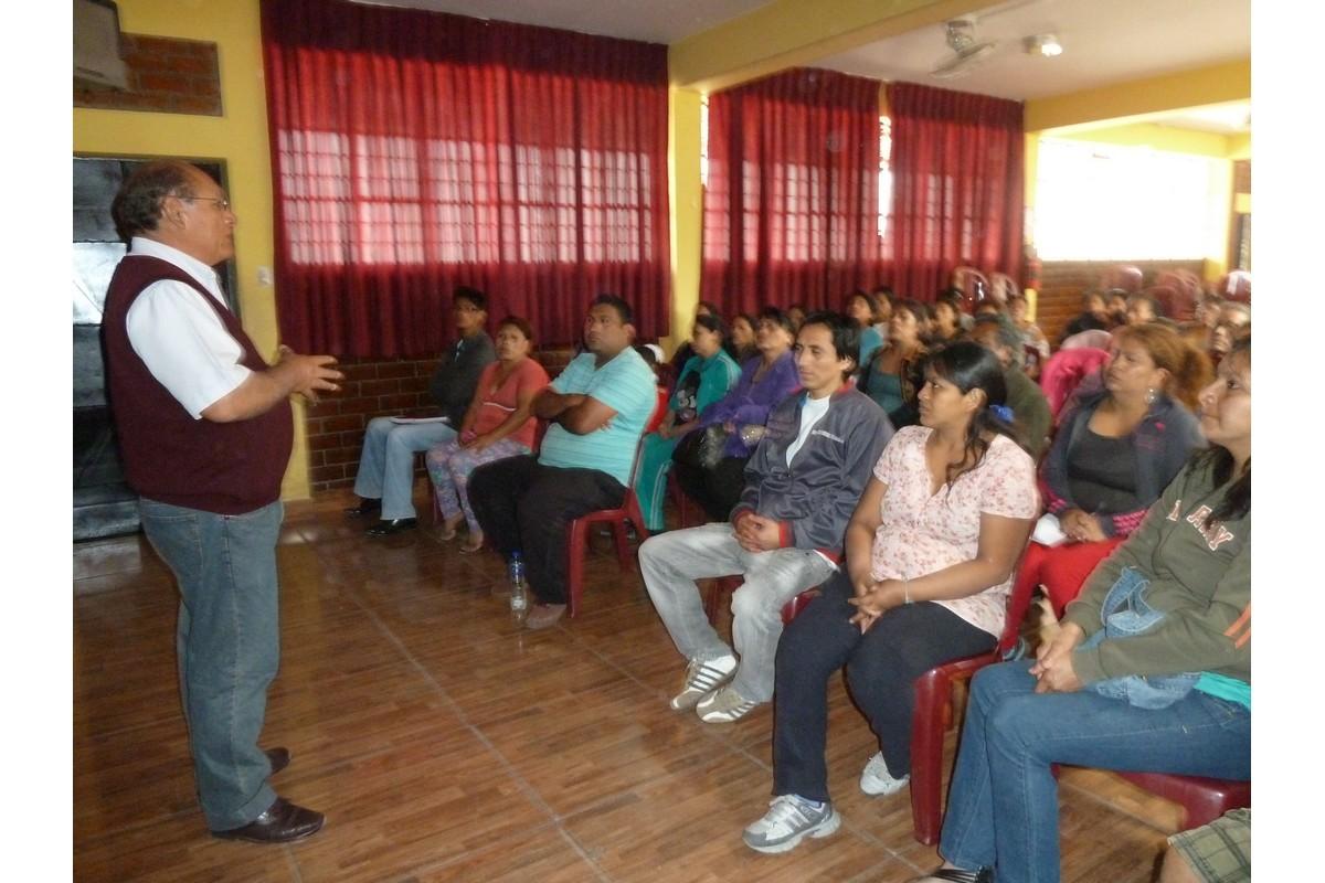 Don Héctor Yarasca responsable de Econtinuidad Perú saluda y habla sobre Econtinuidad