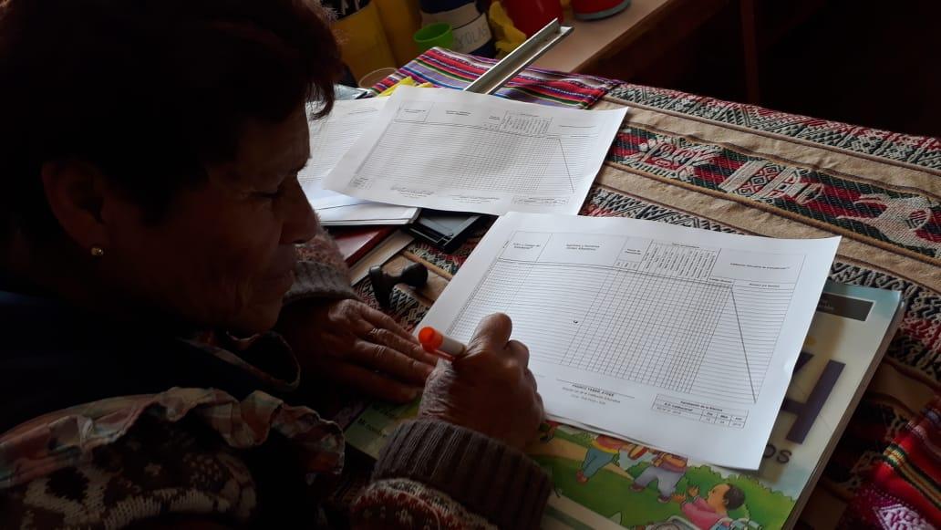 Coordinaciones  acciones con la directora y con los padres de familia-10 septiembre